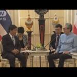 タイ政府が茂木大臣に TPP参加の意思を表明(18/05/02)